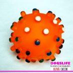 Dogs Life Kutyajáték színes sípoló labda  kb 6-7cm-es - Játék egész nap