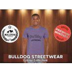 Bulldog Streetwear Férfi Póló - Vintage fekete logó mintával Különböző színben