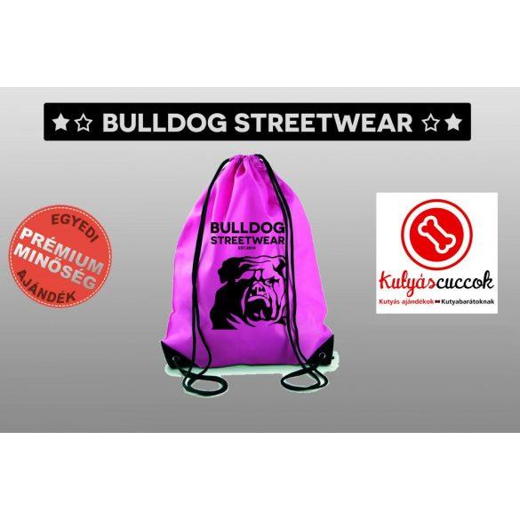 Tornazsák színes- Bulldog Streetwear EST 2014. mintával
