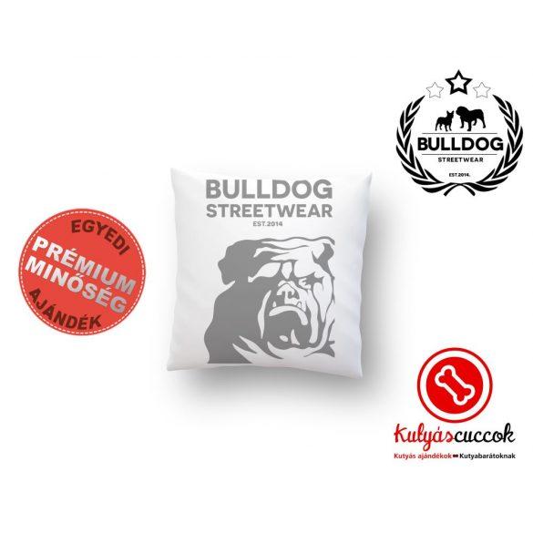 Párna Bulldog Bulldog Streetwear Est.2014. 35x35cm
