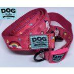 Dog Walking Apparel Unikornis nyakörv és póráz szett