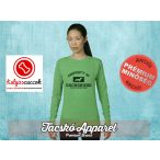 Tacskós Női pulóver - Tacskó Property Of Dachshund  mintával Több színben
