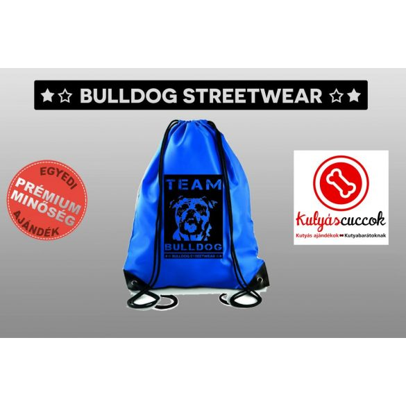 Tornazsák színes- Bulldog Streetwear Team Bulldog mintával