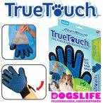 True Touch szőrápoló kesztyű kutyáknak és macskáknak RAKTÁRRÓL!