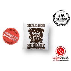 Párna Bulldog Bulldog Streetwear Bulldog Hungary 35x35cm