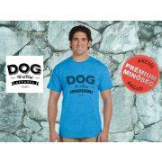 Dog Walking Férfi Póló - Dog Walking Apparel mintával  Minden méretben és több színben