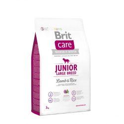 Brit Care Hypoallergenic Száraztáp Junior Large Breed Lamb&Rice 3kg Bárányos Rizses Hypoallergén