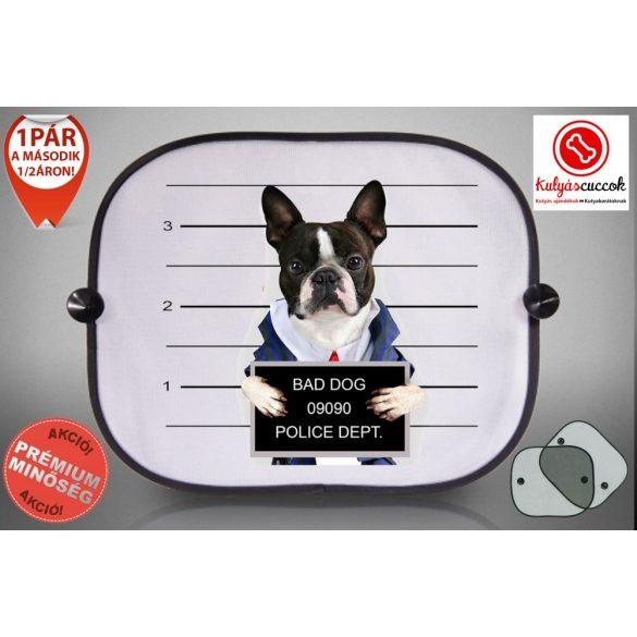 Autós Napellenző - Bulldog Bad Dog