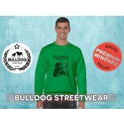 Bulldog Streetwear Férfi környakas pulóver - BSW Est.2014. mintával Több színben