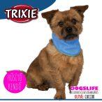Trixie Hűsítő Kendő Kék (hűsítő kendő/hűtőkendő/hűtősál/hűtőnyakörv) PVA M: 28-40 cm