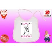 Előke - Bulldog Streetwear I Love My Frenchie