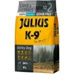 Julius-K9 GF Hypoallergenic Senior Lamb & Herbals - Gabonamentes Szuperprémium táp Báránnyal és Gyógynövényekkel 340gr.