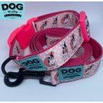 Dog Walking Apparel Bulldog lány nyakörv és póráz szett