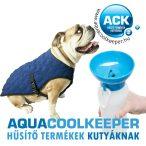 Aqua Coolkeeper hűtőkabát, hűsítőkabát M + Dog Tour Kutyakulacs AKCIÓS CSOMAG (77-86cm, hossz:43cm) RAKTÁRON
