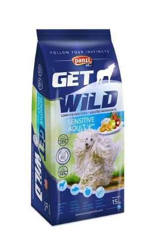 Panzi GetWild 15kg ADULT Sensitive Lamb