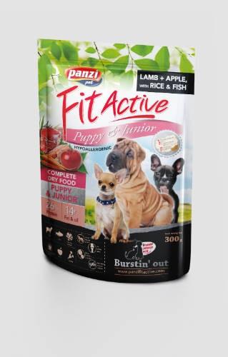 PanziPet FitActive DOG 300g PUPPY&JUNIOR LAMB