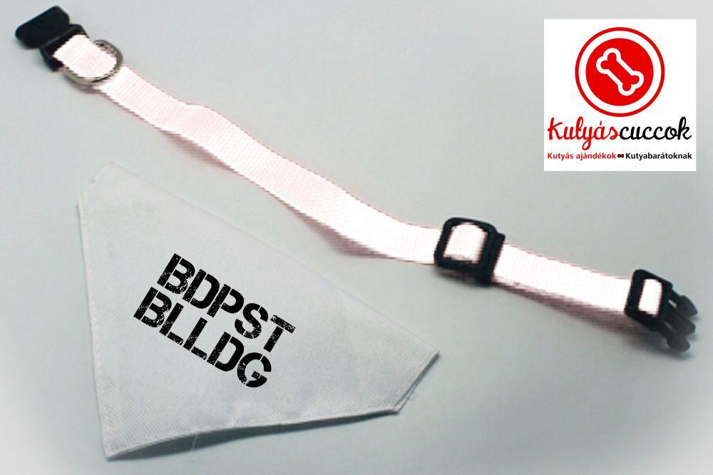 Kutyakendő - BDPST BLLDG felirattal
