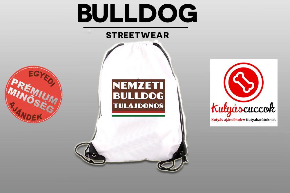 Tornazsák - Nemzeti Bulldog Tulajdonos mintával
