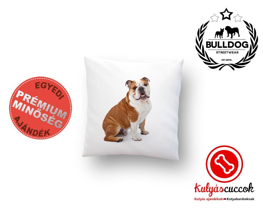 Párna Bulldog Angol Bulldog 40x40cm